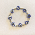 The Evil Eye Goldie Bracelet