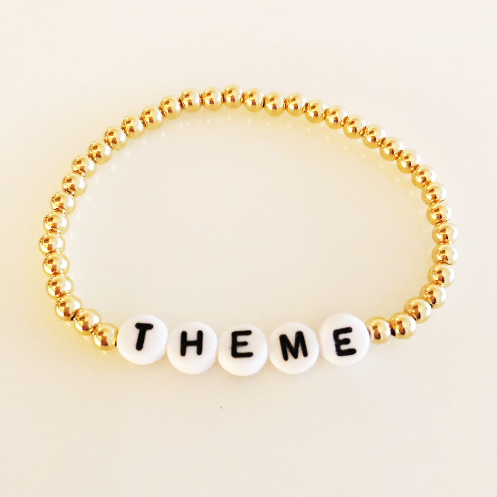 The Goldie Name Bracelet