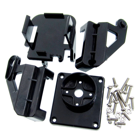 10pcs/lot Servo bracket PT Pan/Tilt Camera Platform Anti-Vibration Camera Mount for Aircraft dedicated FPV nylon PTZ for  SG90