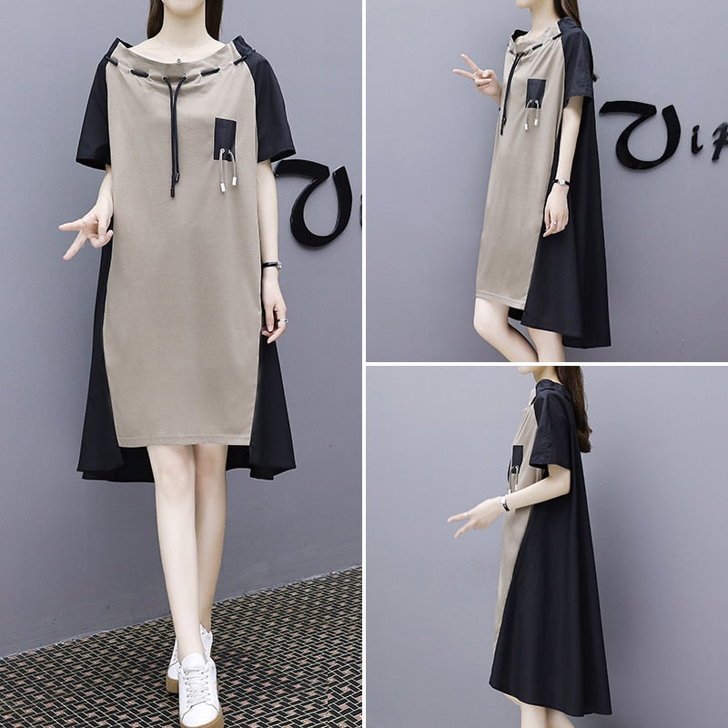 Vintage Elegant Female Loose Diamonds Dress Chiffon Ruffles vestidos
