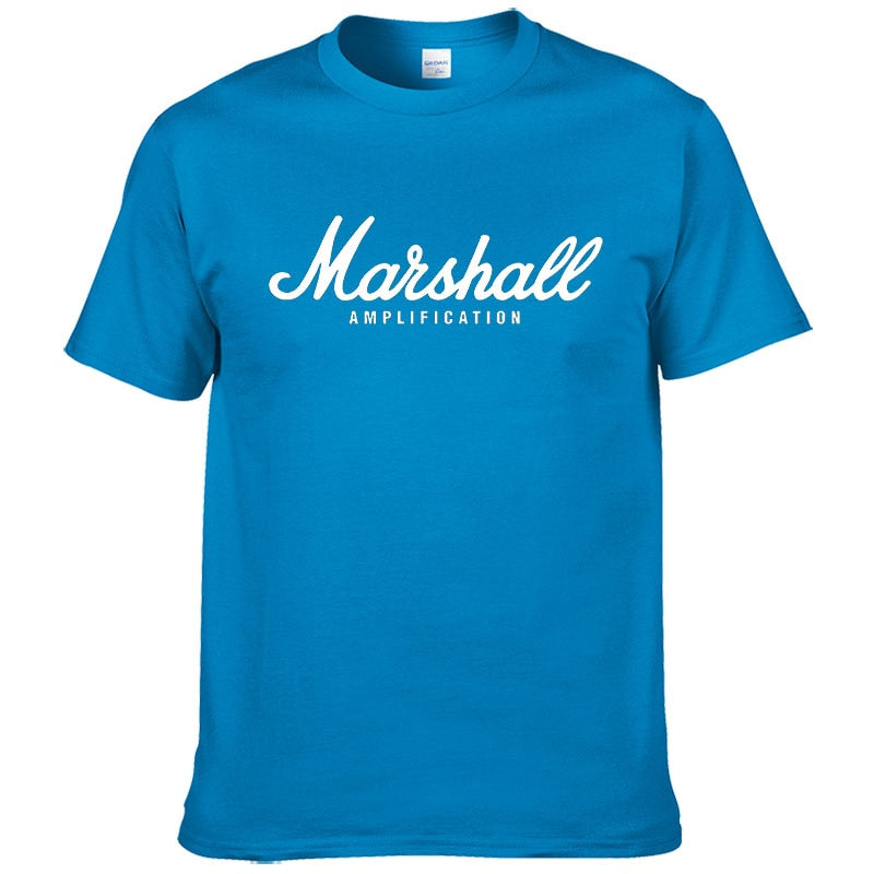 2017 hot sale summer 100% cotton Marshall t shirt men short sleeves tee hip hop streetwear for fans hipster XS-2XL #220 1