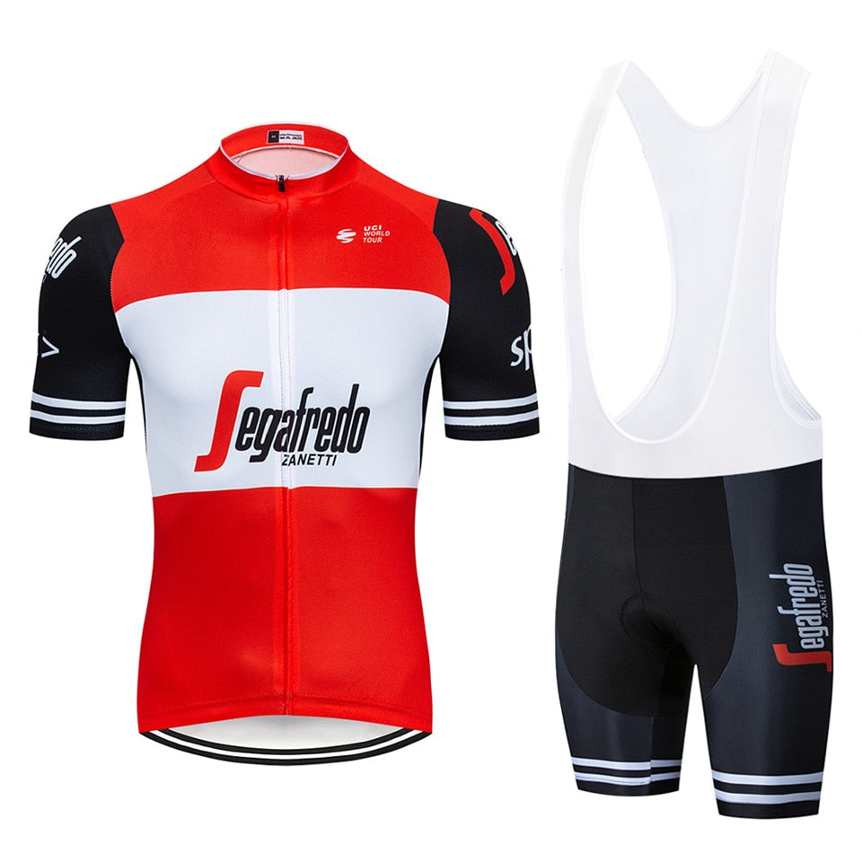 2018 uci Cycling Clothing Bike jersey Quick Dry Mens Bicycle clothing summer Trekking team Cycling Jersey gel bike shorts set 1