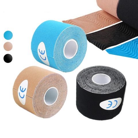 2size Muscle Tape Waterproof Kinesiology Tape Sport Taping Strapping Football Knee Muscle Medical tape Athletic Sport Recovery