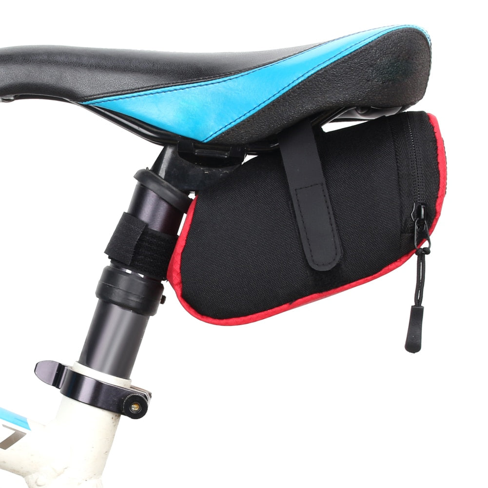 3 Color Nylon Bicycle Bag Bike Waterproof Storage Saddle Bag Seat Cycling Tail Rear Pouch Bag Saddle Bolsa Bicicleta accessories