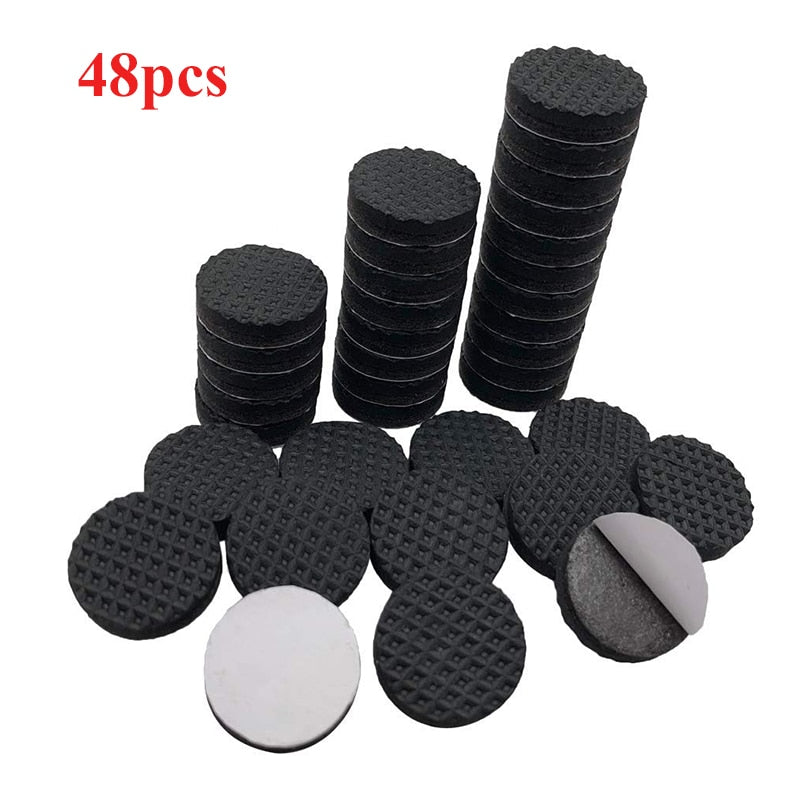 Chair Leg Pads Floor Protectors for Furniture Legs Table leg Covers Round Bottom Anti Slip Floor Pads Rubber Feet