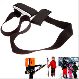 Child Adult Snowboard Shoulder Straps Nounting Pole Hand Carrier Lash Handle Adjustable skateboard accessories Ski Bag