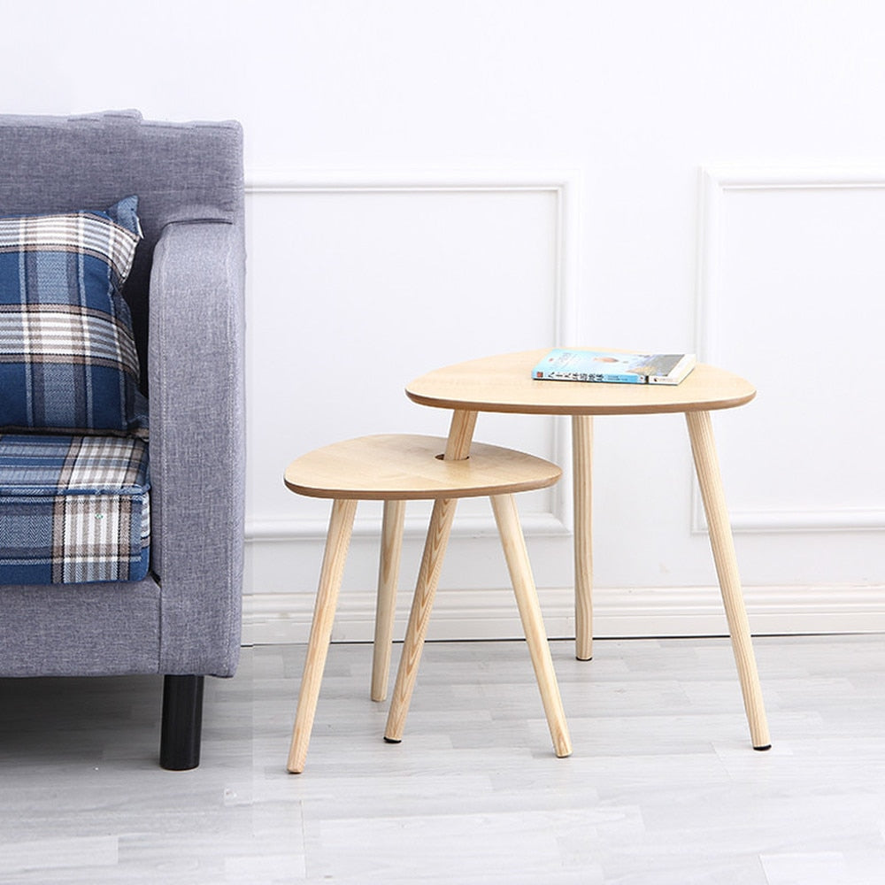 Contracted and contemporary creative small tea table edge table a few Angle combination of tea table set few small
