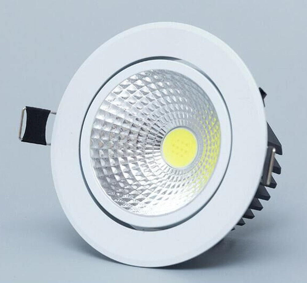 Dimmable Led downlight light COB Ceiling Spot Light ceiling recessed Lights Indoor Lighting