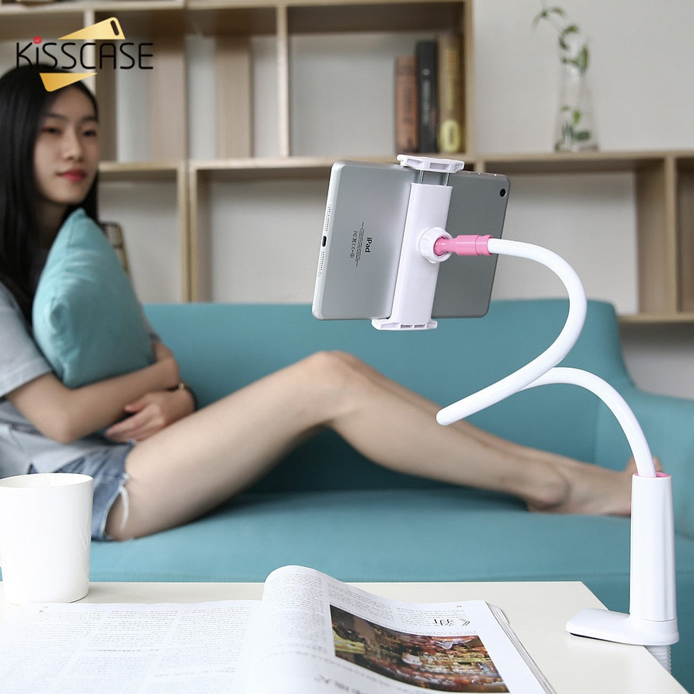 Universal Holder For Mobile Phone Compatible Within 3.5~10.5 inches Screen Tablet PC Desk Stands For iPhone & iPad
