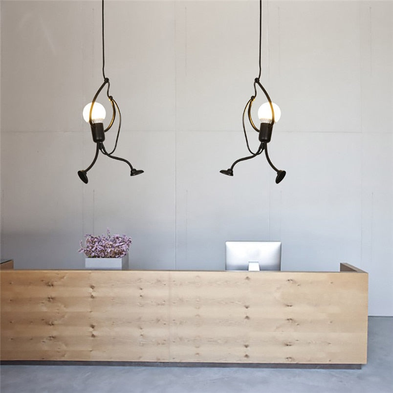 Modern Charming Hanging Chandelier Creative Iron Lamp Elegant Hanger for home indoor Lighting new year Decorations