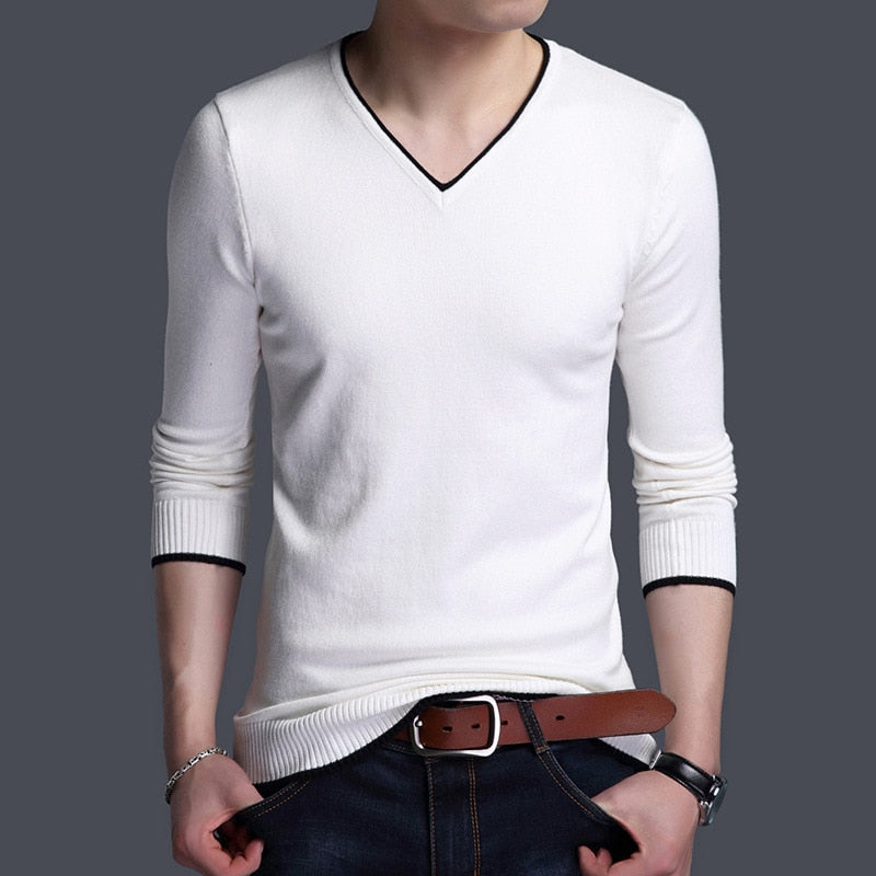 New arrival Spring autumn Men Casual long sleeve T-shirt