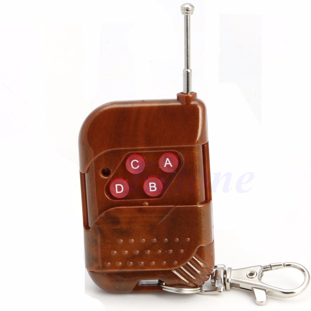 Wireless RF Remote Control Controller for Light Bulb Door 4 Channel 315MHz