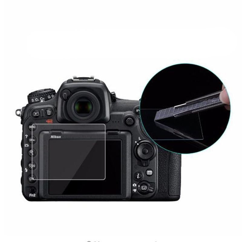 Tempered Glass Protector For Nikon D500 D600 D610 D7100 D7200 D750 D800 D810 D850 Camera LCD Screen Protective Film Protection