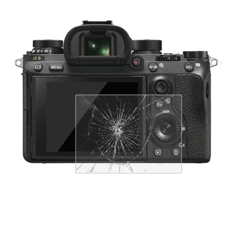 Tempered Glass Screen Protector for Sony A7II A7III A9 A99 A77/A7R A7S mark II III/A7M2 A7M3 A7RIII A7RII A7R2 A7R3 A7SII A7S2