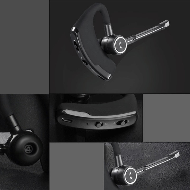 Business Bluetooth Headset Wireless Earphone Car Bluetooth V4.1 Phone Handsfree MIC Music play for iPhone Samsung Xiaomi