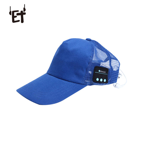 Wireless Bluetooth Cap Outdoor Sports Sun Baseball Hat Headset w/ Mic Handsfree Music Headphone for Cell Phone