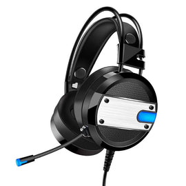 Wired Gaming Headset Deep Bass Game Computer LED Light  Headphones for PC Laptop Computer