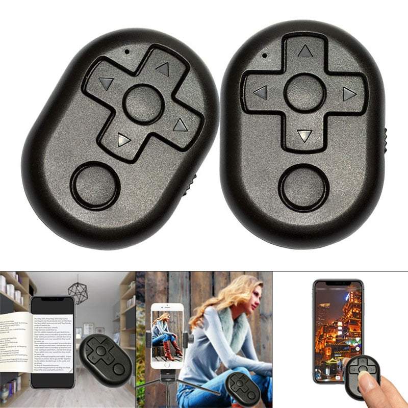 Wireless Bluetooth Remote Shutter Controller Button for Camera Phone Selfie Stick
