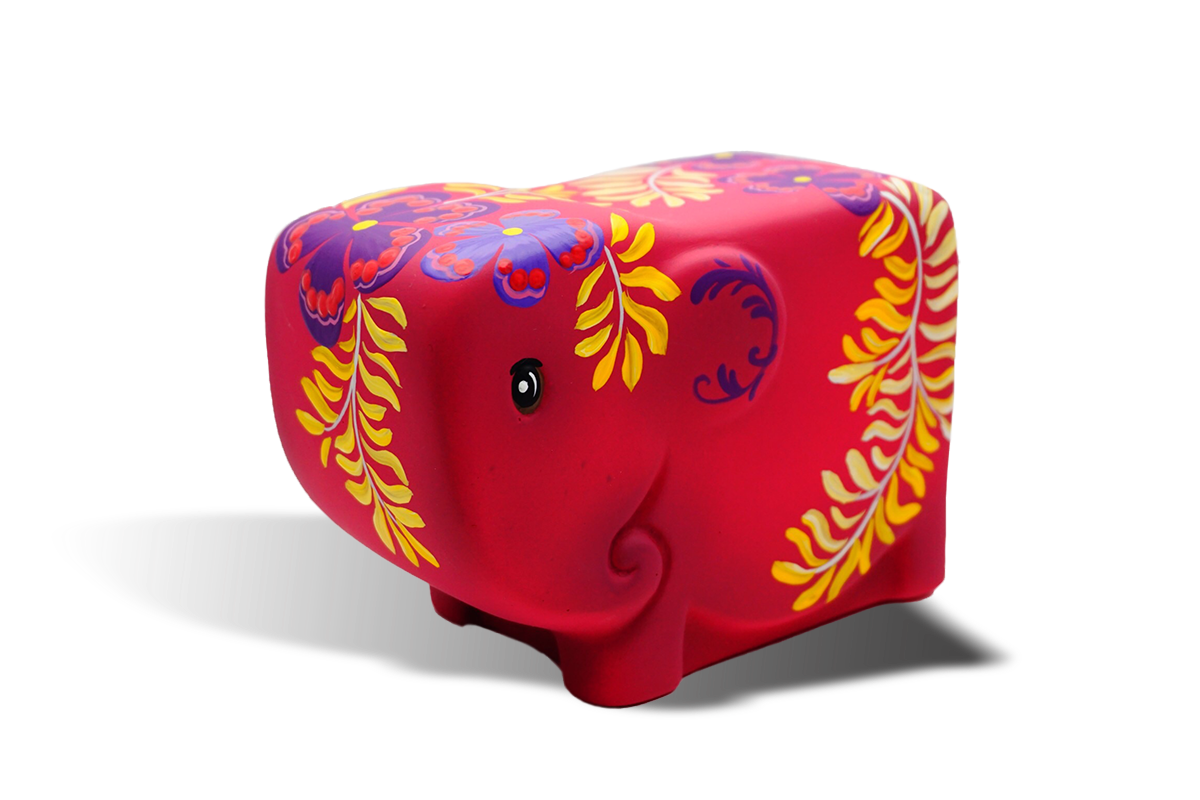 Emotion Elephant Chair (Red)