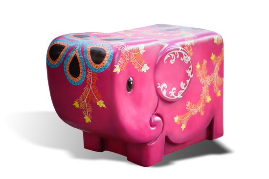 Emotion Elephant Chair (Pink)