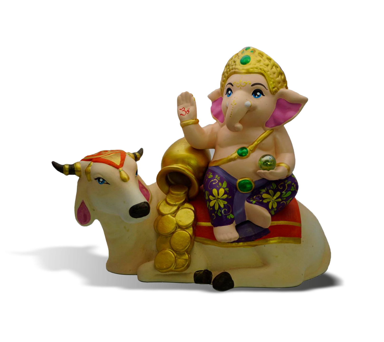 Ganesha and Nandi