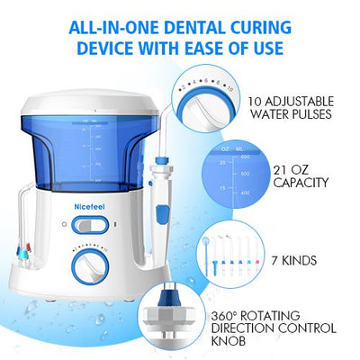 Countertop Water Flosser  Oral Irrigator