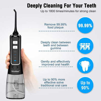 cordless portable Plus Oral Irrigator