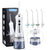 Nicefeel 300ML IPX7 Portable Cordless Ultra Water Flosser Classic Gray