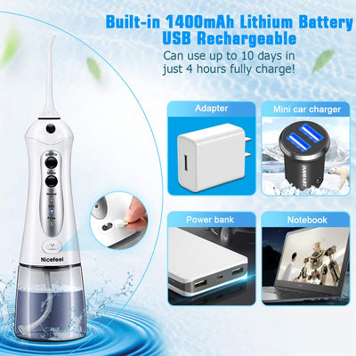 Waterpik Ultra Water Flosser fast charge