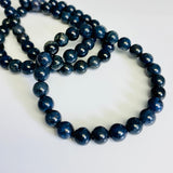 Dumortierite Bracelet / yoga jewelry / gemstone / gift ideas / crystals / healing crystals / beaded bracelets / made in Canada