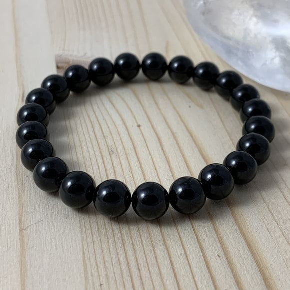 Shungite Bracelet / yoga jewelry / gemstone / gift ideas / crystals / healing crystals / beaded bracelets / made in Canada