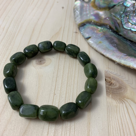 BC Jade Bracelet / yoga jewelry / gemstone / gift ideas / crystals / healing crystals / beaded bracelets / made in Canada