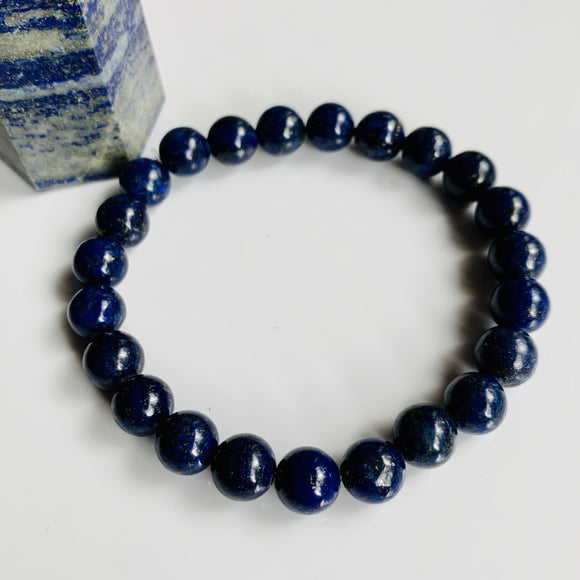 Lapis Lazuli Bracelet / yoga jewelry / gemstone / gift ideas / crystals / healing crystals / beaded bracelets / made in Canada