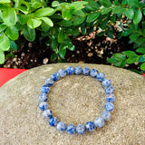 Sodalite Bracelet / yoga jewelry / gemstone / gift ideas / crystals / healing crystals / beaded bracelets / made in Canada