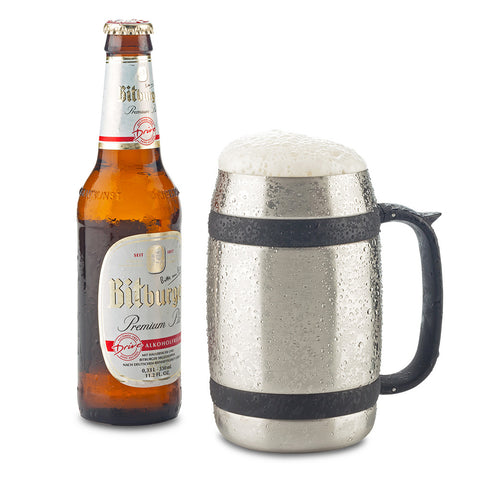 Mug Metalico Beer 550ml