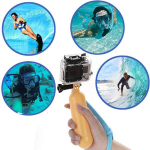 Gopro Bobber Float Monopod Hand Grip Accessories For Hero 4 3+ 2 1  Xiaomi Yi, SJCAM SJ4000/ SJ5000/ SJ6000.