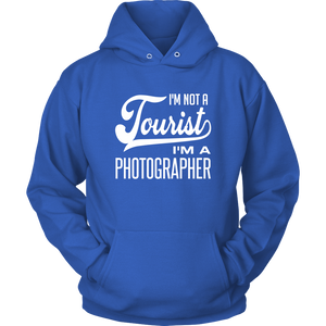 I'm not a tourist hoodie