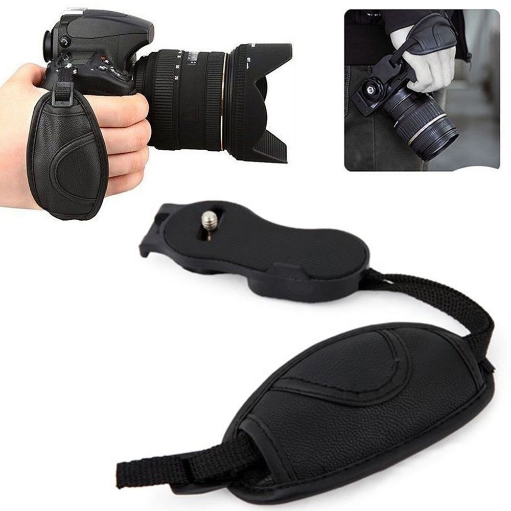 High Quality Camera Correa Faux Leather Hand Grip Wrist strap