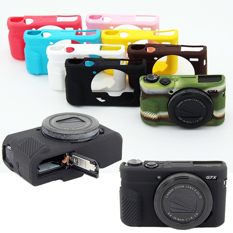 Soft Silicone Rubber Camera Protective Body Cover Case Skin