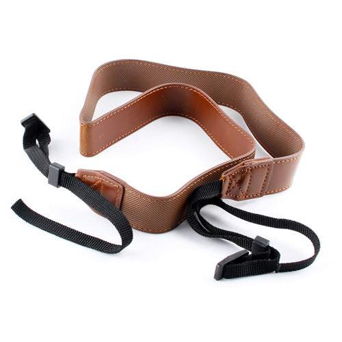 Leather Neck Shoulder Sling Belt Camera Strap