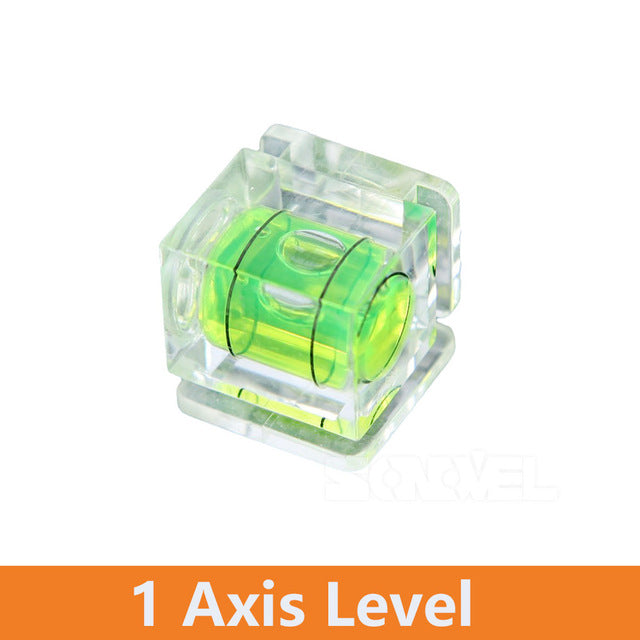 Universal 3-Axis Hot Shoe Fixed Bubble Spirit Level 3D Spirit Level For Canon/Nikon/Pentax DSLR Camera Photography Accessories