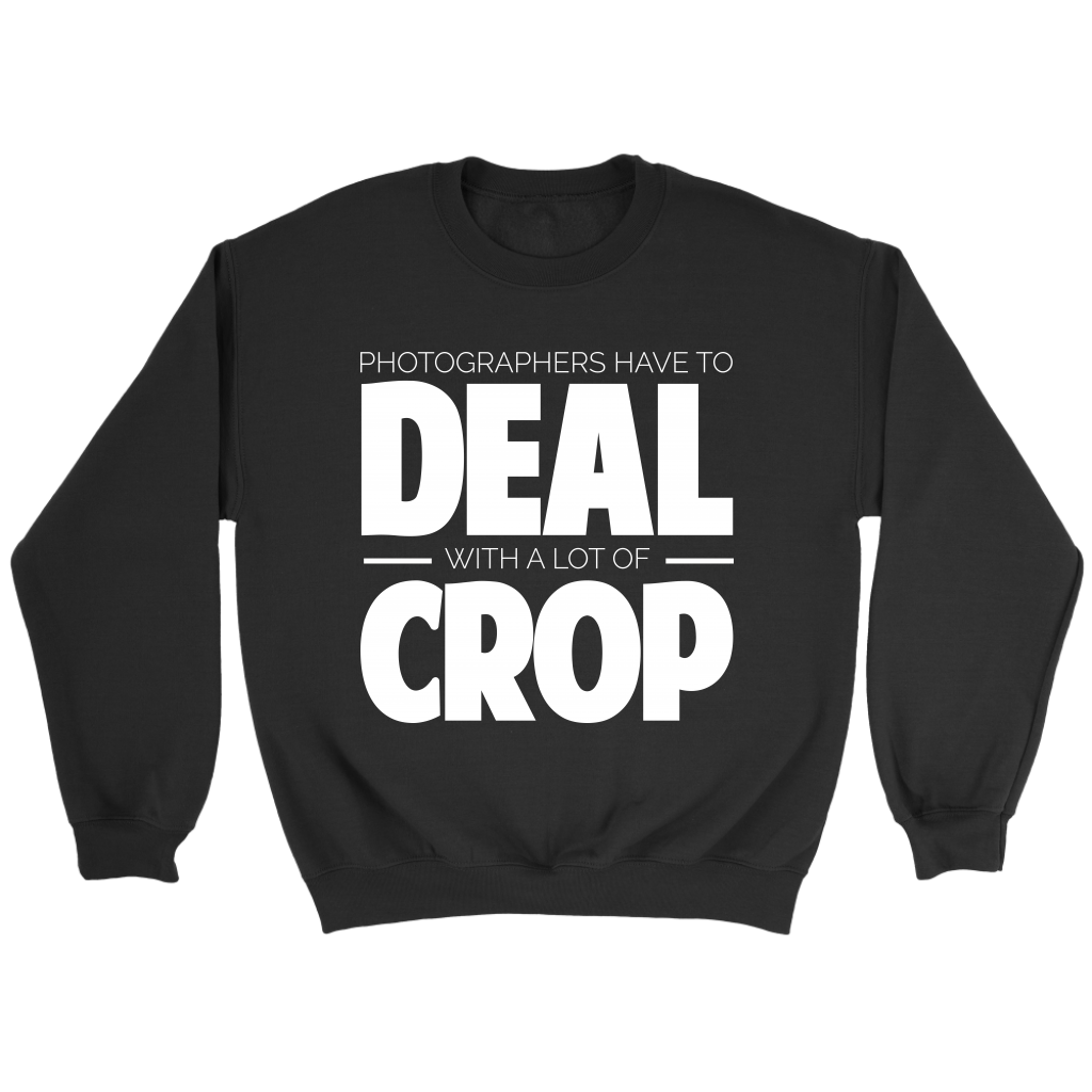Deal with a lot of crop crewneck sweatshirt