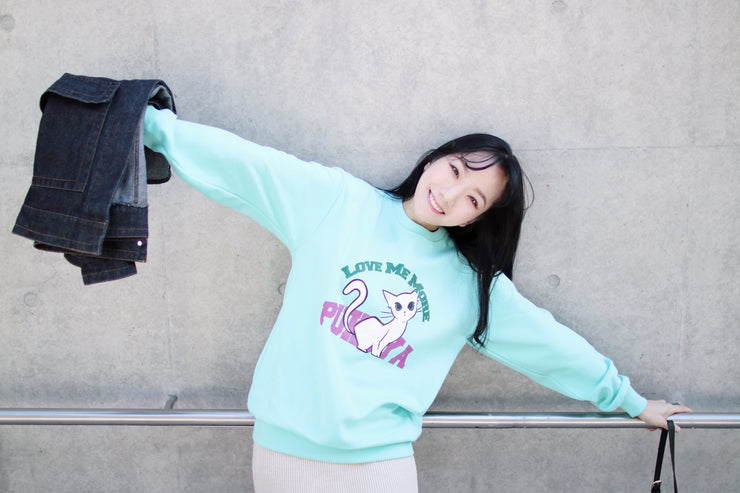 Love Me More Sweatshirt Ver.1 (Mint)