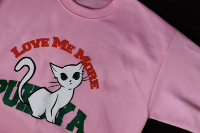 Love Me More Sweatshirt Ver.1 (Pink)