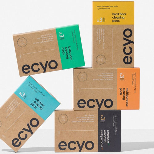 green cleaning pods and options from ecyo