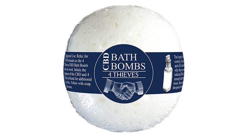 CBD bath bombs from 4 thieves. buy the best cbd bath bombs.
