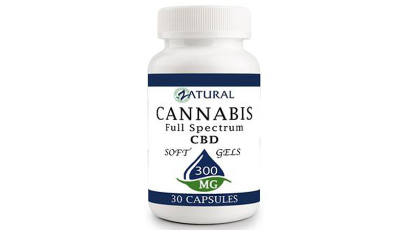 full spectrum hemp cbd capsules from zatural.com.