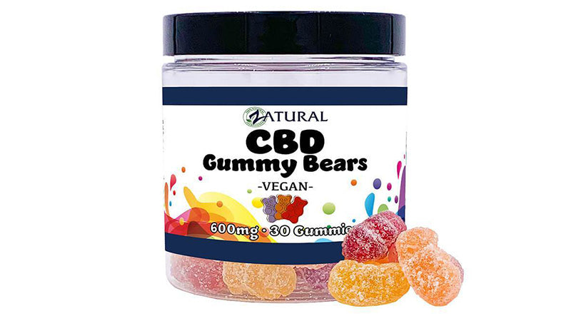 cbd gummy bears vegan 600mg from zatural.com.