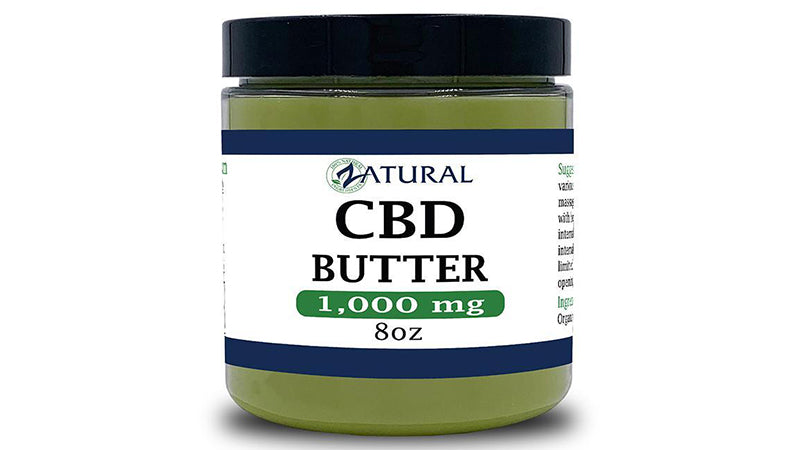 cbd butter for sale from zatural.com. hempseed oil creams.