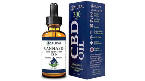 Best CBD oil for anxiety from Zatural.com